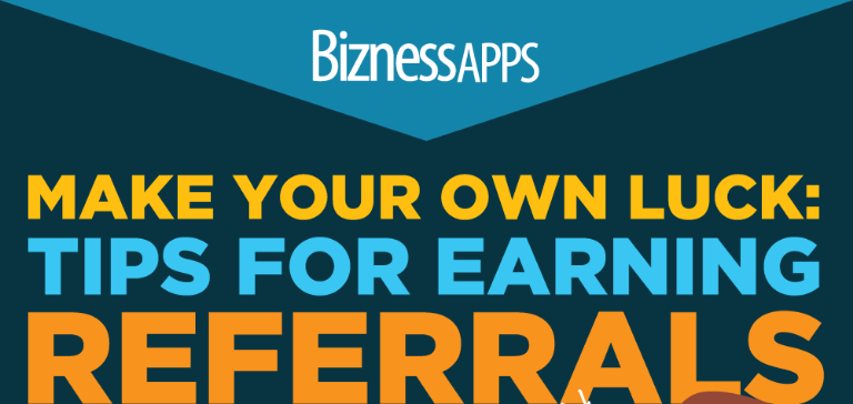 4 Steps to Start Earning More Referrals  Infographic    Bizness Apps